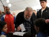 Fidel Castro Calls to Work on the Country\'s Priorities. Fidel Castro at February 3rd Elections.