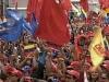 Nicolas Maduro Presidential Inauguration. Venezuelan people present in the inauguration ceremony of the new venezuelan president. (Photo: Telesur)