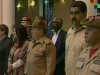 Raul Castro Honors Chavez at Mountain Barracks.  Cuban President Raul Castro paid a visit Saturday to Cuartel de la Montaña (Mountain Barracks) in Venezuela. (Photo TV)