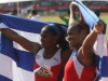 Sancti Spiritus Medals in Veracruz. Young athlete Yirisleidis Ford proved herself as one of the successor in the Cuban hammer sport, after being awarded the silver medal in Veracruz. (Photo: Ismael Francisco)