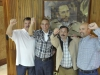 The Cuban Five are back. Emotive images of the arrival of the Cuban anti-terrorist heroes Gerardo Hernández, Antonio Guerrero and Ramón Labañino, and their encounter with Raul Castro, their relatives, and neighbours. (Photo: AIN)