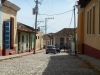 Old American cars also present in the cobbled streets of Trinidad. (Photo: A. del Valle)