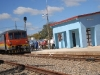 Vignettes of Sancti Spiritus in 2012. The program for the recovery of the railway infrastructure meant great benefits for several municipalities of Sancti Spiritus. The photo shows the new train station built in Iguara, Yaguajay. (photo: Oscar Alfonso)