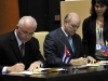 XIII Meeting of Cuba-Venezuela Intergovernmental Commission.  Cuba and Venezuela signed in Havana 51 cooperation projects on education, health, culture, sports, food production, construction, and energy, among other fields. (Photo: AIN)