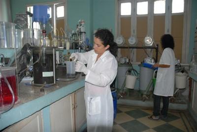The Biogas lab at the Jose Marti University