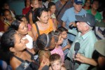 Machado Ventura visited the territories of Cueto and Mayari, two of the most affected in Holguin. (Photo: from Granma)