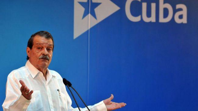 Cuban deputy foreign minister Abelardo Moreno