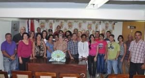 Escambray newspaper staff