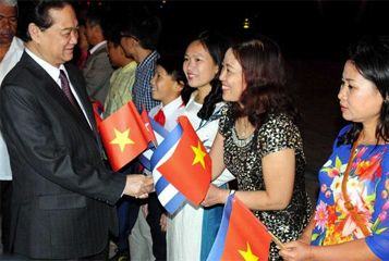 Vietnam''s Prime Minister Nguyen Tan Dung