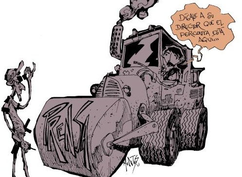 Cuban Press Illustration