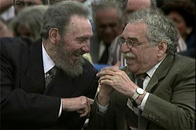 Fidel and Gabriel García Márquez