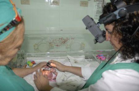 retinopathy of prematurity Sancti Spiritus