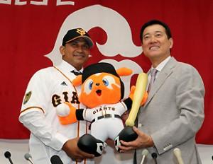 Frederich Cepeda Yomiuri Giants