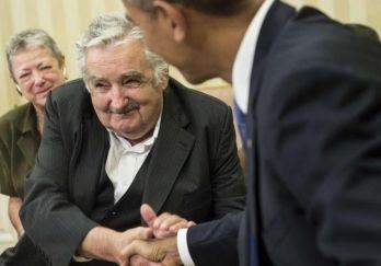 Barack Obama and Pepe Mujica