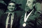Fidel Castro and Eugenio George.