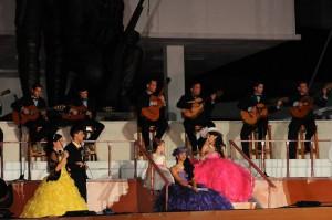 Gala for the 500th anniversary of Sancti Spiritus (Photo: Vicente Brito)