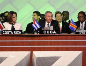 The Cuban President denounces the illegal actions carried out against sovereign countries. (Photo: Telesur)