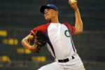 Cuban starter Morejon struck out 12 U.S. batters, and gave up three runs on seven hits and a walk. (Photo: IBAF)