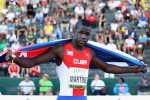 The triple jumper Lazaro Martinez  is notably absent from the Cuban team. (Photo: IAAF)