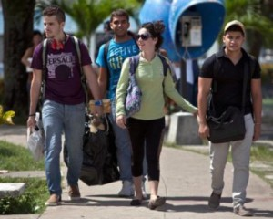 Youths from Venezuela, Costa Rica and Peru were sent to Cuba hopefully to encourage a rebellion.