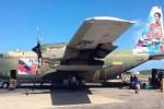 Hercules C130 awaiting departure at Venezuelan International Airport Maiquetia Simon Bolivar. (Photo: teleSUR-Felix Oso)