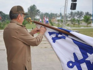 The Antonio Maceo Award is among the highest acknowledgments granted to military centers in Cuba. Photo: Estudos Revolución.