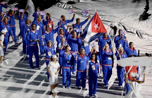 Cuban delegation in Veracruz 2014