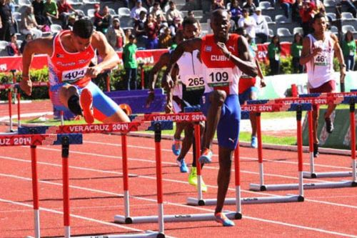 escambray, cuba, central american and caribbean games, veracruz, track and field