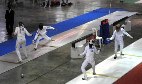 cuba, veracruz 2014, central american and caribbean games, epee
