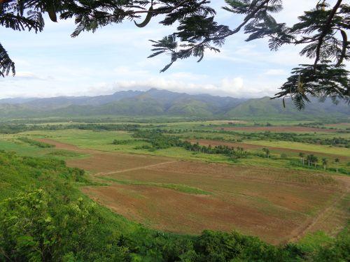 The Valley of San Luis, in Trinidad. (Photo: Vicente Brito)