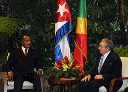 Escambray, Cuba, Denis Sassou Ngueso, Raul Castro, African Union Organization