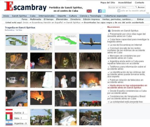 escambray, sancti spiritus, online newspaper