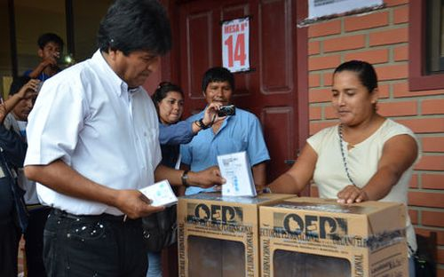 escambray, bolivia, evo morales