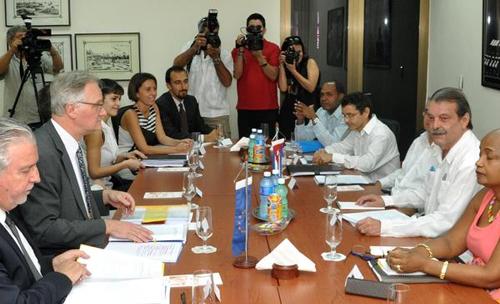 Cuba-EU talks