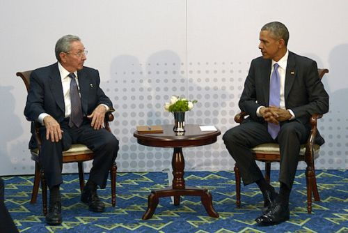 escambray, raul castro, barack obama, summit of the americas