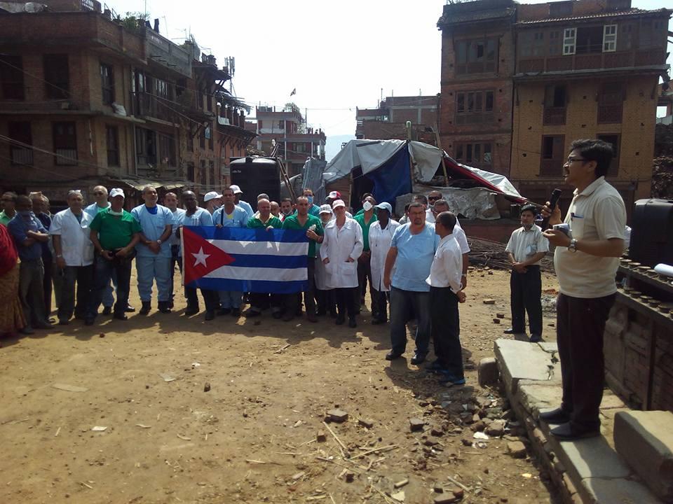Cuban Medical Brigade in Nepal