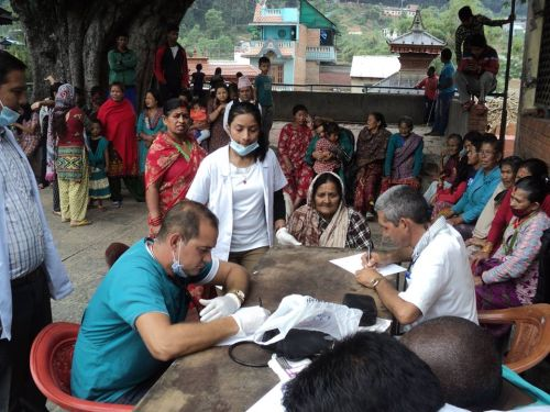 Cuban doctors in Nepal