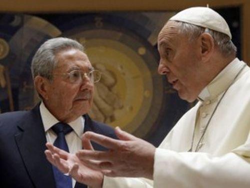 escambray, raul castro, pope francis