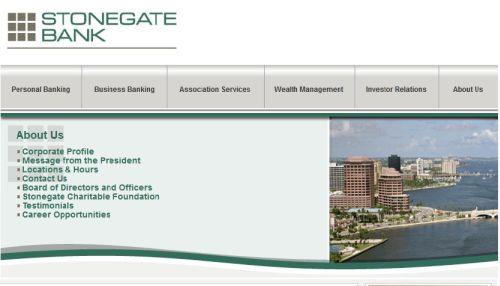 Stonegate Bank Florida