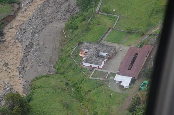 colombian landslide