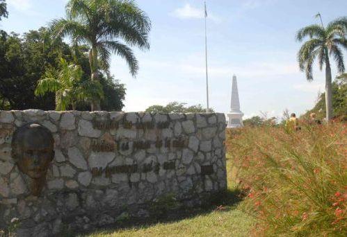 Monument to Jose Marti in Dos Rios. (Photo: Oscar Alfonso Sosa)