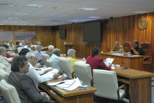 escambray, raul castro, council of ministers