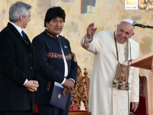 escambray, pope francis, bolivia, evo morales