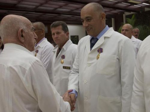 escambray, ebola, cuban doctor, raul castro, africa