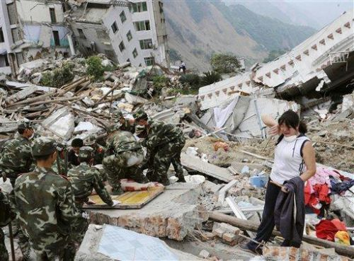 escambray, china, earthquake