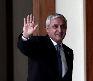 Pérez Molina steps down as president of Guatemala | Photo: EFE