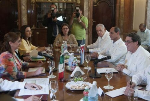 Cuba and Mexico Seek to Foster Bilateral Relations. Photo: AIN