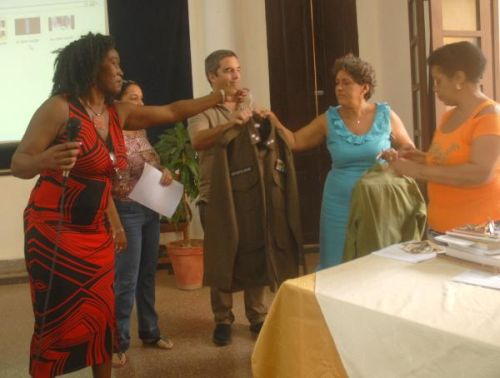 Trinidad Museum Receives Personal Items Donation. Photo: OAS/AIN