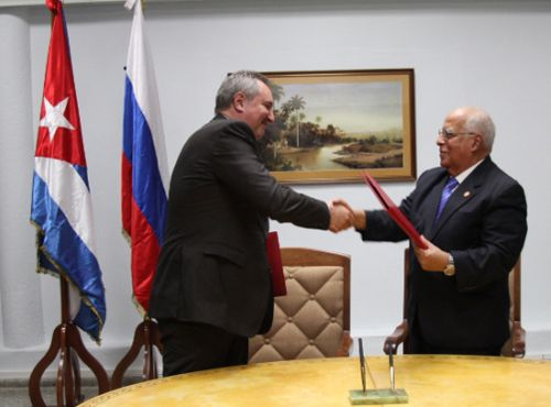 Russia, Cuba Sign Package of Cooperation Accords. Photo: Roberto Ruiz.