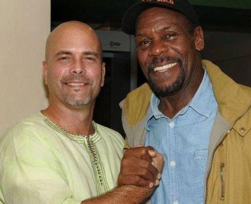 Gerardo Hernández and Danny Glover. Photo: Vladimir Molina Espada